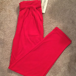 Red Activewrear/Yoga Pants